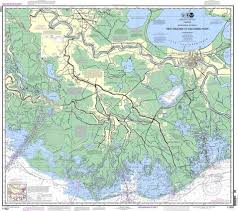Noaa Nautical Chart 11352 Intracoastal Waterway New Orleans To Calcasieu River East Section