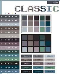 Classic color scheme, Classic web colors. Classic color combinations