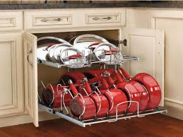 Kitchen Storage For Pots And Pans Kitchen Pot Organizer Kitchen Pots And Pans Storage Ideas Kitchen