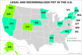 a tale of the legal marijuana states canabuzz legal marijuana states