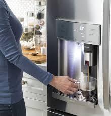 ge profile refrigerator with keurig. Modren Keurig GE Profile Series ENERGY STAR 222 Cu Ft CounterDepth French And Ge Profile Refrigerator With Keurig