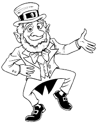 template of a leprechaun leprechaun colouring pages free printable coloring pages for kids