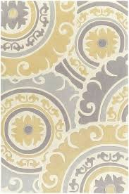 area rug yellow cosmopolitan medallion and damasks area rug yellow gray yellow area rugs 5x7 blue