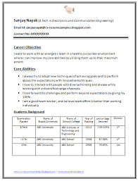 Free Download Link for B Tech Fresher Resume Sample Download