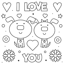 Slide your crayons on valentines printables for mother, dad and teachers of blank template to write your own greeting, poem, or just to color in. Valentine S Day Coloring Pages Heart Love Themed Coloring Pages For Kids Adults Printables 30seconds Mom