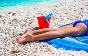cool beach towels for girls. Close Up Of A Little Girl Legs On Beach Towel Stock Photo - 33341501 Cool Towels For Girls