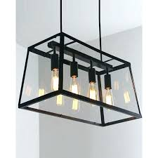 industrial style ceiling lights 4 retro pendant light with metal framed glass box lamp