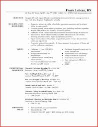 Entry Level Nurse Practitioner Resume Inspirational Icu Rn Resume ...