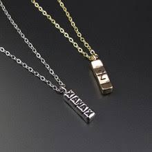 <b>bar</b> letter <b>pendant</b>