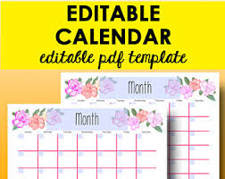 monthly calendar 2018 template monthly calendar printable editable template calendar 2018
