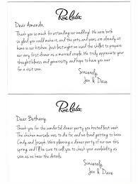 Wedding Thank You Samples Rue Thank You Note Examples What To Write In A Wedding Thank You