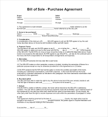 Sample Horse Bill Of Sale Forms - 7+ Free Documents In Pdf, Word