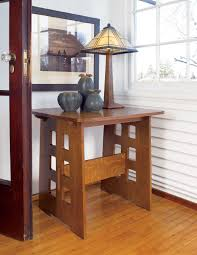 craftman furniture. Lovely Mission Furniture Table And Lamp Craftman