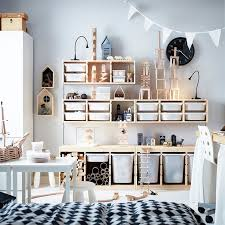 Apartment Ikea Storage Ideas Bedroom Ikea Ikea Trofast Pine Storage With  Boxes 1364302126845