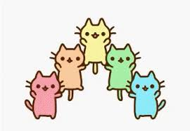 cute cats animated gif. Modren Animated Cute Kitties Sweet Pet Party Kitty Happy Excited Colorful Celebrate  Trending Cute Cat GIF Inside Cats Animated Gif G