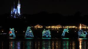 Disney World Water Light Show Electrical Water Pageant Walt Disney World Resort