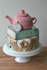 Mad Hatter Cake Designs Birthday Cake Designs Buttercream In 2019 Cake Alice In