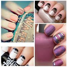 Washi Tape Nail Art Tutorial Clouds Hearts YouTube. DIY Washi Tape ...