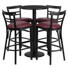 set of 4 bar stools. Set Of 4 Bar Stools Espan Us Within Designs 15