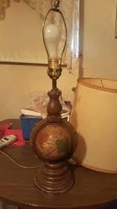 underwriters laboratories portable lamp antique issue number contem