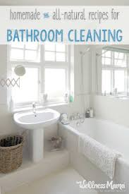 Natural Bathroom Cleaning Tips | Wellness Mama