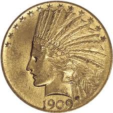 10 Gold Indian Head 1907 1933 0 4838 Troy Ounce Gold Content