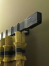modern curtain rods. Modern Curtain Rods Chic Poles Add To Your Rooms By Umbra