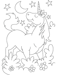 free printable unicorn coloring pages for s pictures kids cartoon