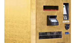 Gold To Go Vending Machine Enchanting Snack Bars To Gold Bars Vending Machines Dispense Bullion