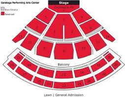 Spac Guide Saratoga Performing Arts Center Schedule