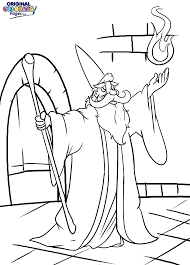 Wizards – Coloring Pages – Original Coloring Pages