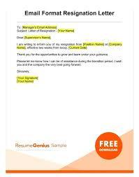 Resignation Template Good Resignation Letter Examples 0 Resignation