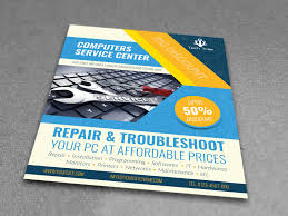 Free Downloadable Flyers Templates 025 Computer Repair Flyer Template Free Download Templates
