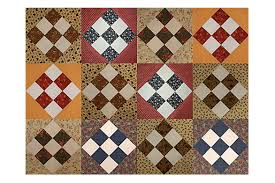9 Patch Quilt Pattern