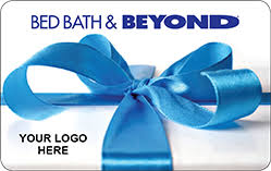 customize your bed bath beyond gift cards with your logo or special message