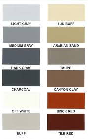 Color Charts Marbelite International Corporation