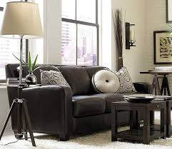 Dark Brown Couches What Color Walls Go With Brown Furniture Brown