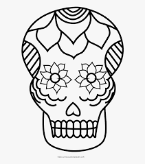 Free pokemon coloring pages detective pikachu to printable for adults. Sugar Skull Coloring Page Sugar Skull Coco Coloring Pages Free Transparent Clipart Clipartkey