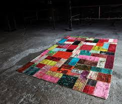 bright multi colored rugs miinu 2 bright multi colored rugs by miinu