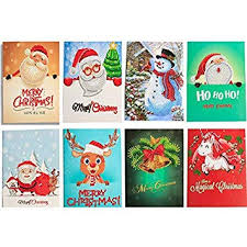 <b>HuaCan</b> Christmas Cards 5D <b>DIY Diamond Painting</b> Round Drill ...