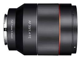 sony 50mm 1 4. rokinon-50-1-4-af-fe-lens sony 50mm 1 4