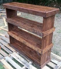 rustic pallet furniture. Pallet Shoe Case | Rustic Reclaimed Furniture Shelf Book By Kustomwood R