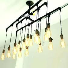 install chandelier recessed light replace track lighting designs bulbs bulb handmade p