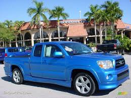 2007 Toyota Tacoma X-Runner in Speedway Blue Pearl - 448448 | Jax ...