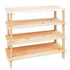 wood storage rack plywood