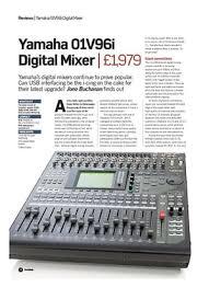 yamaha 01v96i. future music yamaha 01v96i digital mixer 01v96i ,