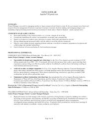It Program Manager Resume Sample Emphasizing Area Of Expertise And