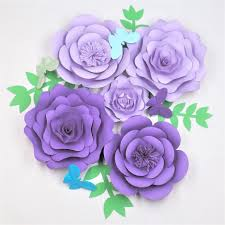 2018 2018 diy giant paper flowers leaves erflies half made paper flower wedding event baby nursery decorations from fivestar 32 17 dhgate com