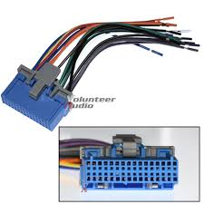 gm plugs into factory radio car stereo cd player wiring harness wire links