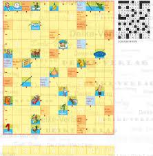 Sommerferien Kinder Kreuzworträtsel Kinder Zielgruppe Deike